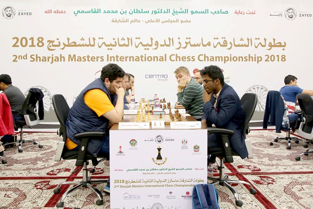 Maghsoodloo Parham of Iran defeated SP Sethuraman of India to emerge sole leader