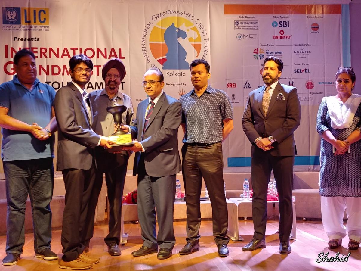 GM Srinath Narayanan - Champion kolkata