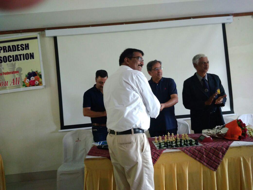 Kapil Saxena, Secretary MPCA receives the participation certificate
