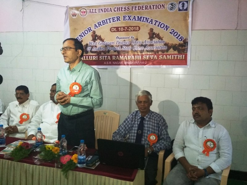 SNA inauguration by YD Rama Raju President, APCA