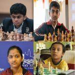 FIDE online medal winners