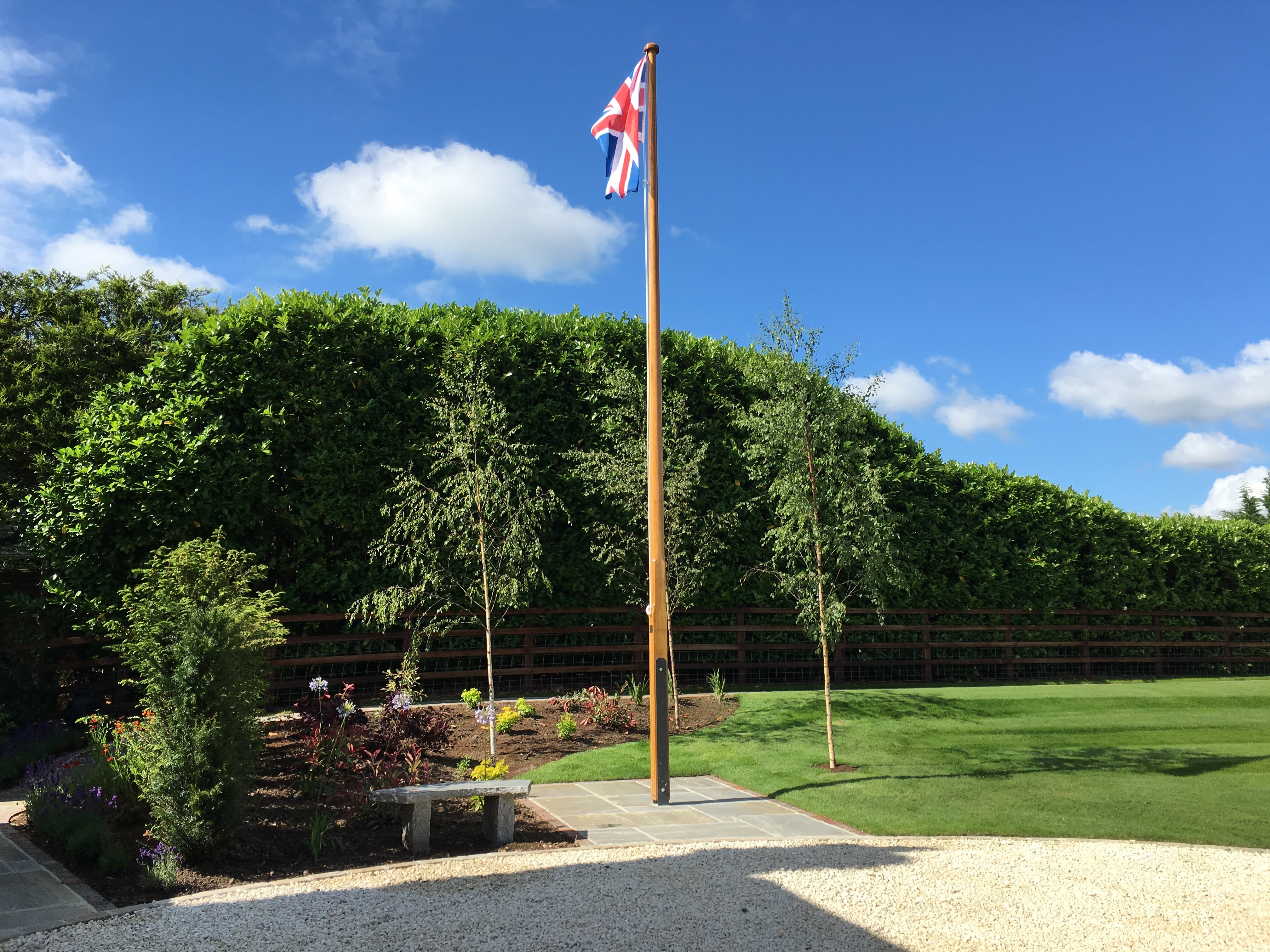 Cookham flagpole