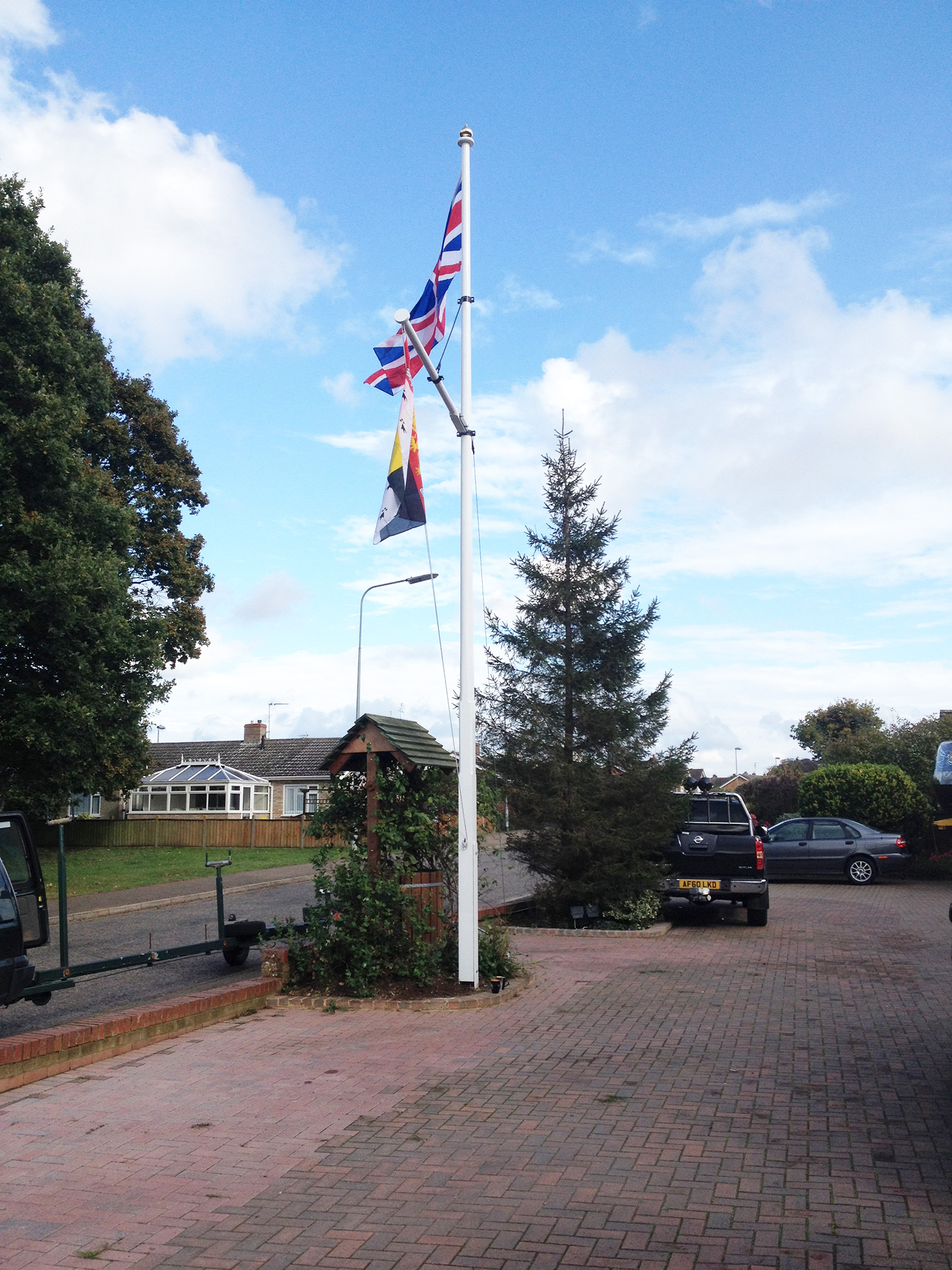 Traditional, Handcrafted Quality Wooden Flagpoles