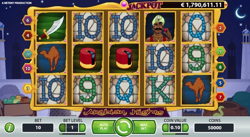 Arabian Nights millionaire