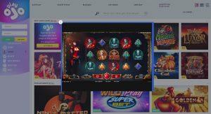 Playojo casino game