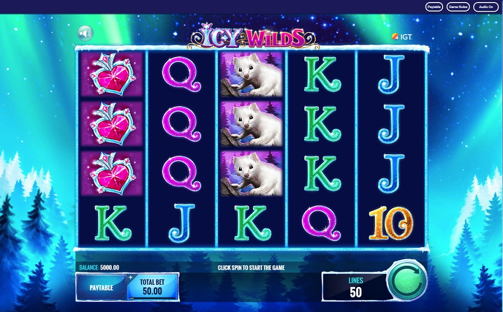 Ice Wild Slot Casino Game
