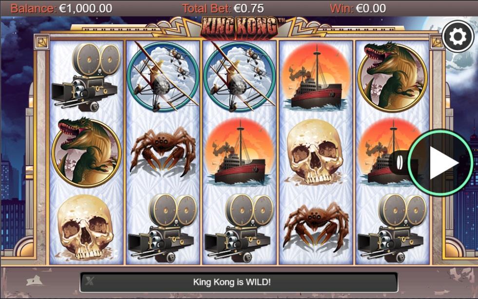 King Kong slot game