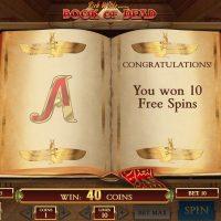 Book of Dead casino game