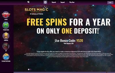 SlotsMagic Casino Review