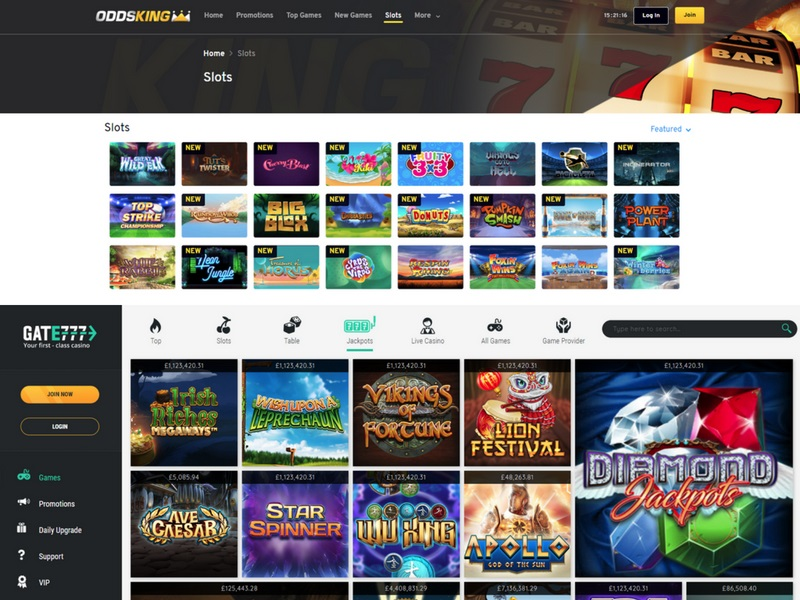 Gate 777 OddsKing casino review