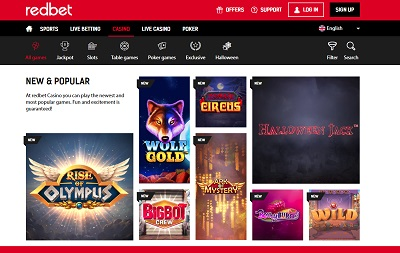 Redbet review
