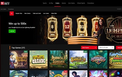 mansion bet casino review