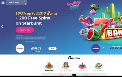 Casino Joy casino review