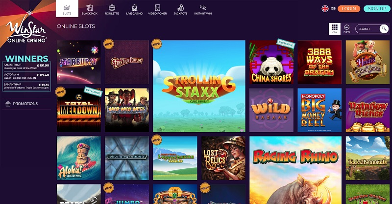WinStar casino review