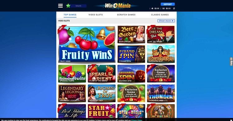 Winomania casino review