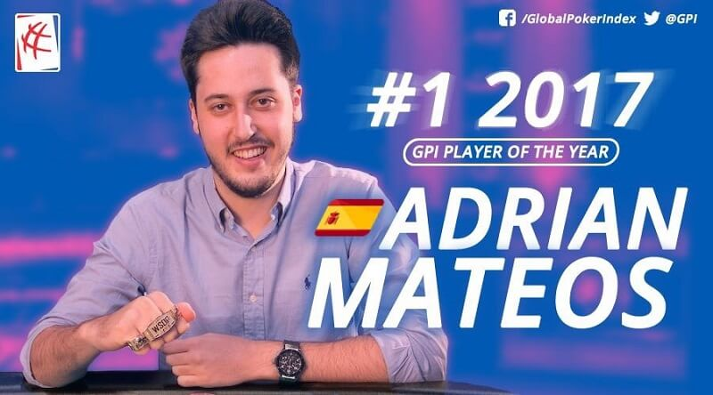 Adrian Mateos poker gpi player of the poker