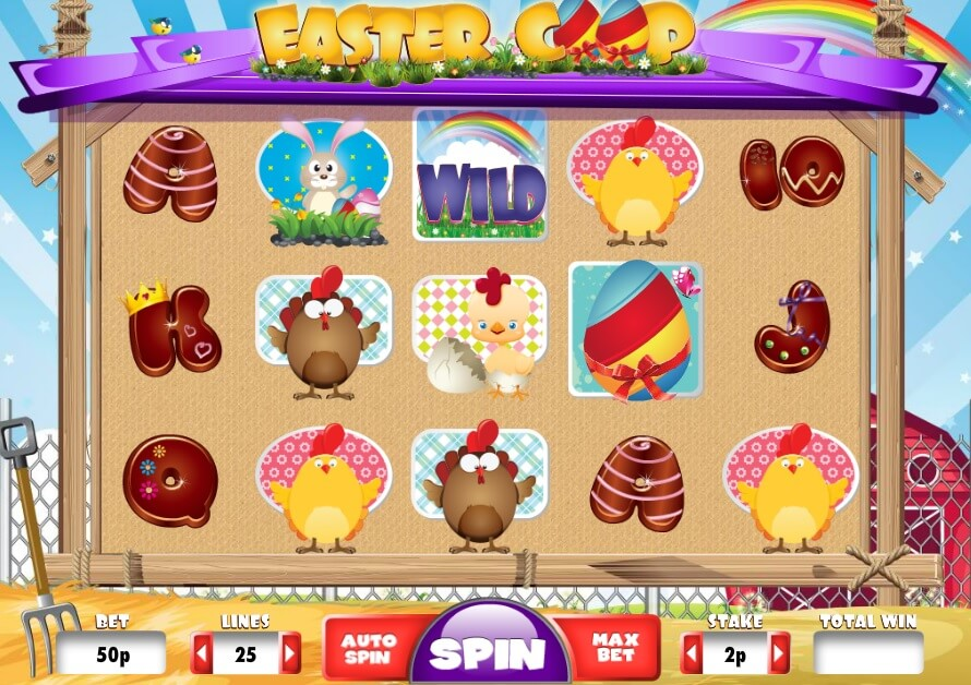 Easter Coop slot game