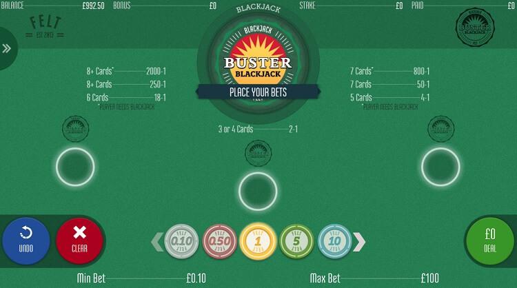 blackjack busterbet