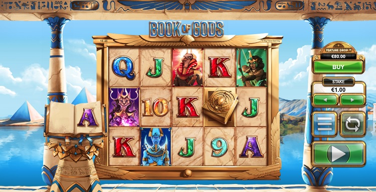 Book of Gods slot game