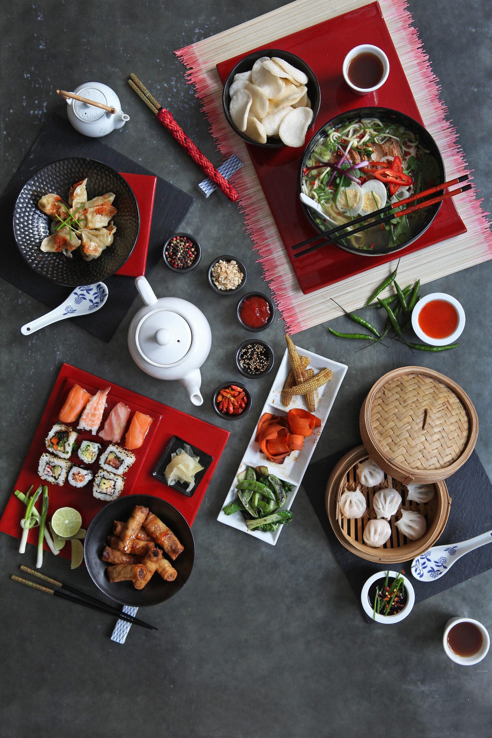 CHINESE FOOD FLATLAY