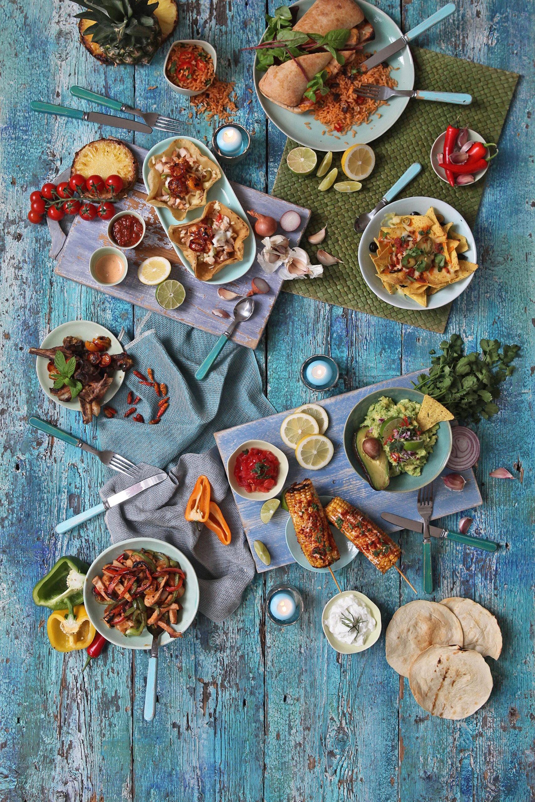 MEXICAN FOOD FLATLAY