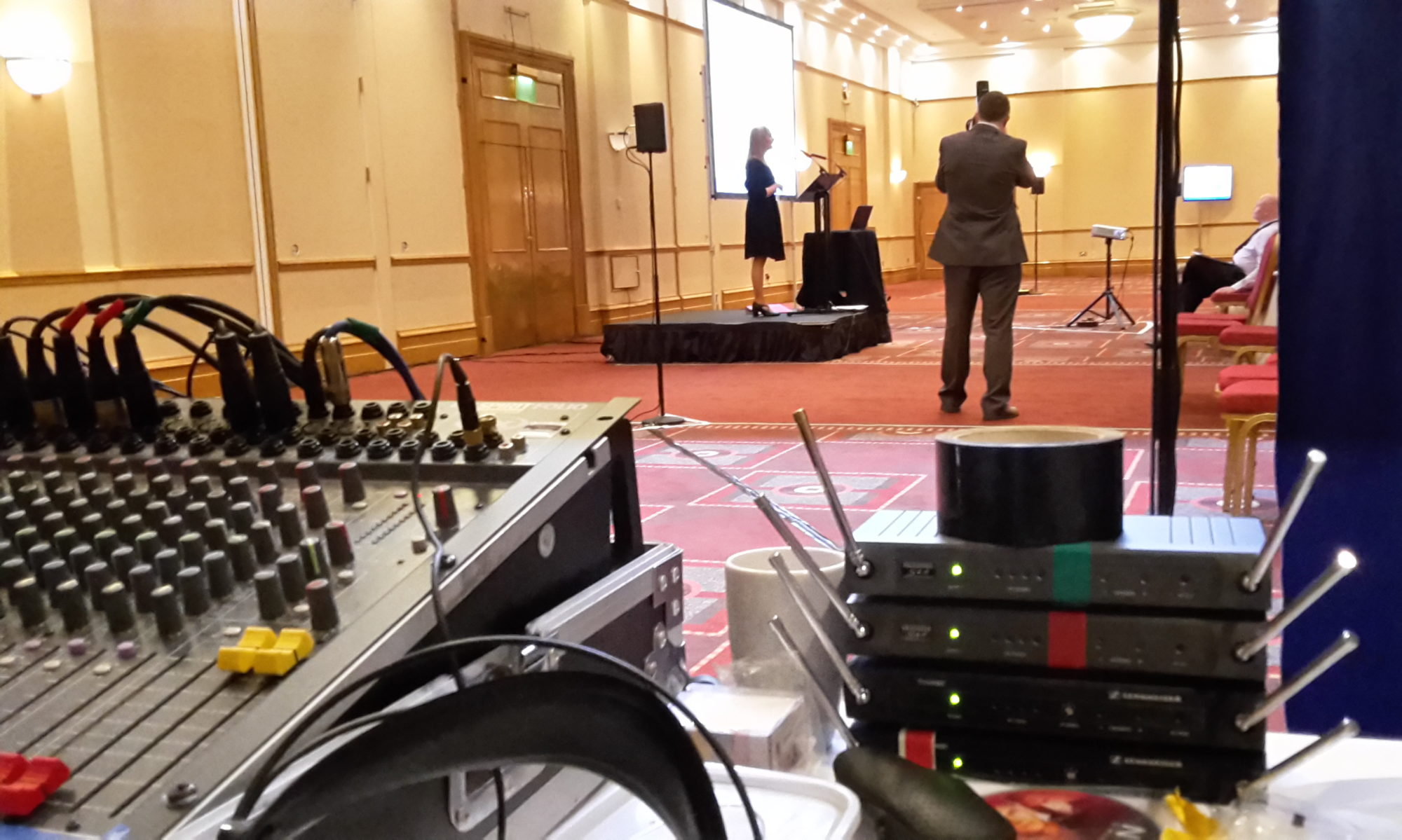 Microphones, Public Address & Sound Systems