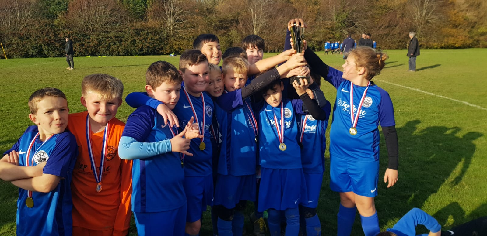 Shoreham FC U10s Win Arun & Chi Cup Final