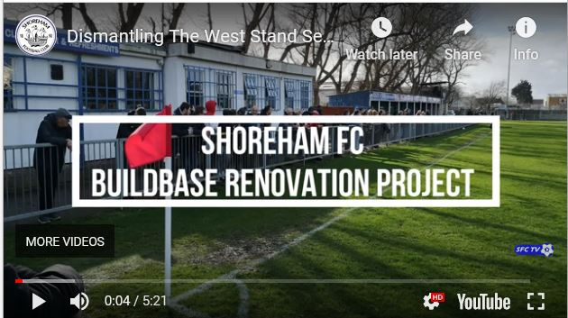 Our stadium upgrade begins- Watch it as it happens