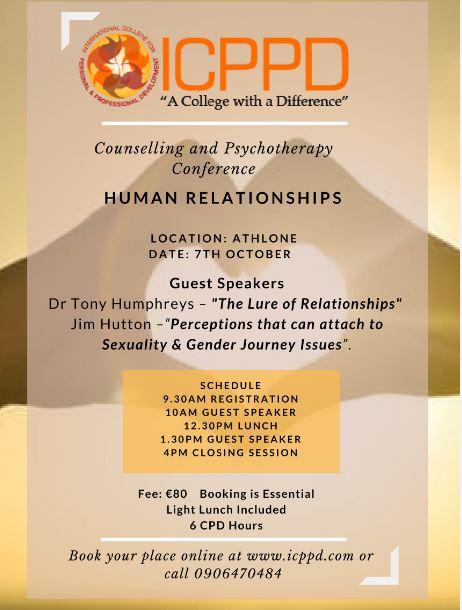 conference poster for Human Relationships with ICPPD