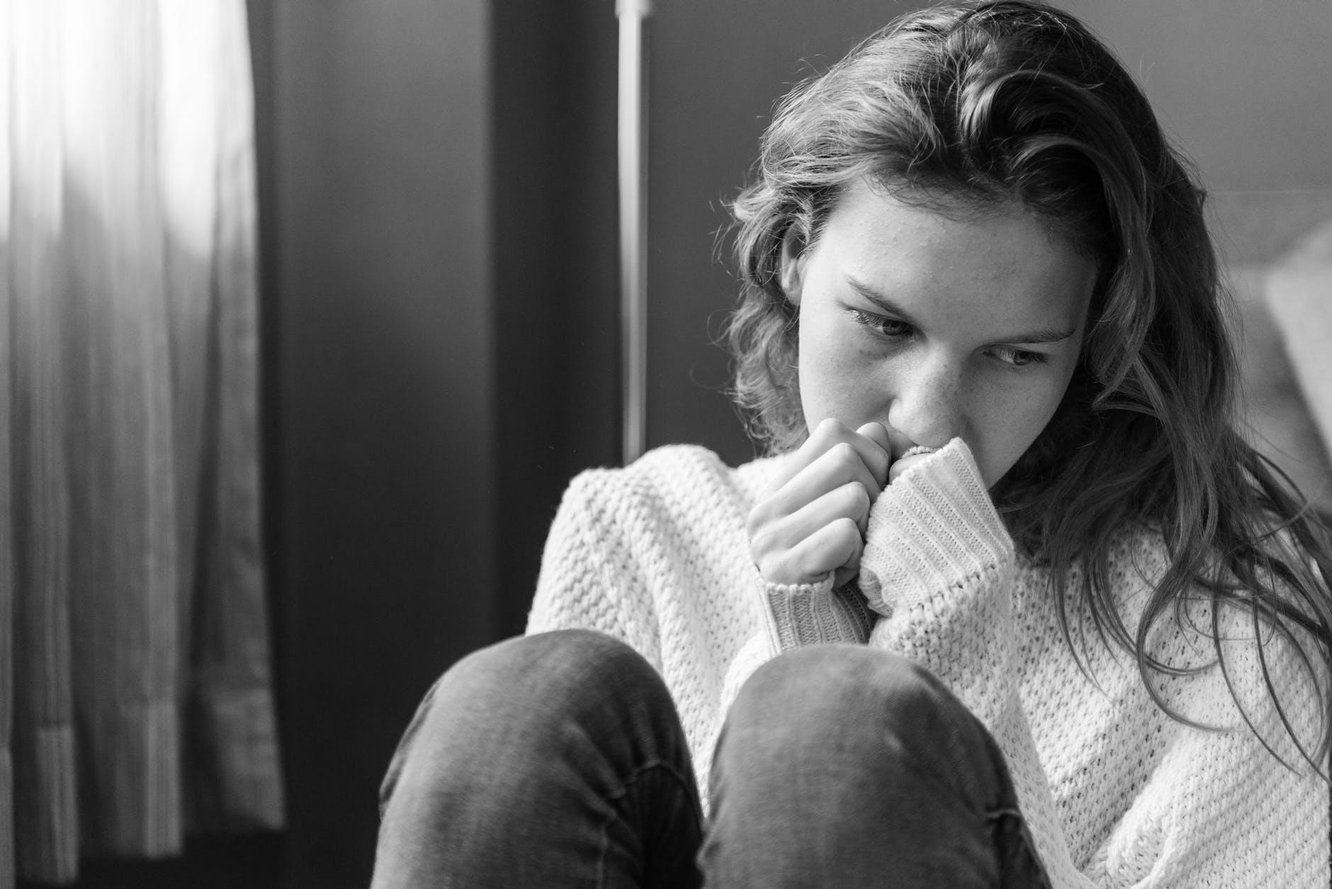 improve low self-esteem by talking to a friend or tutor