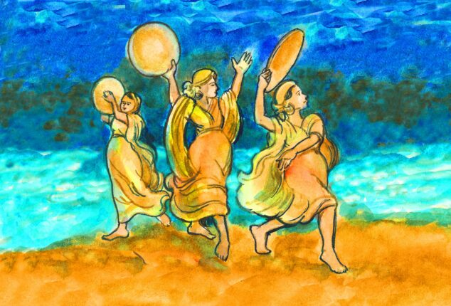 Miriam, Passover, Pessach