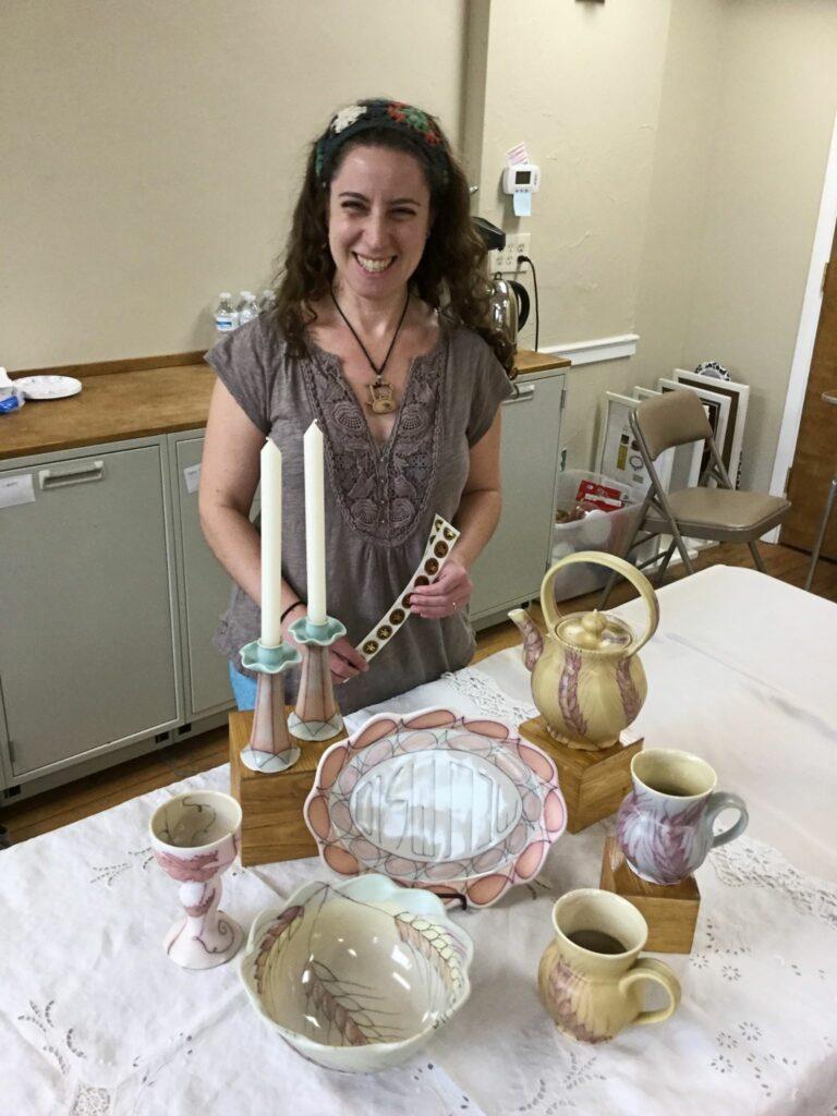 Jennifer Wankoff, Judaica, Tableware, Homeware, Art, Artist
