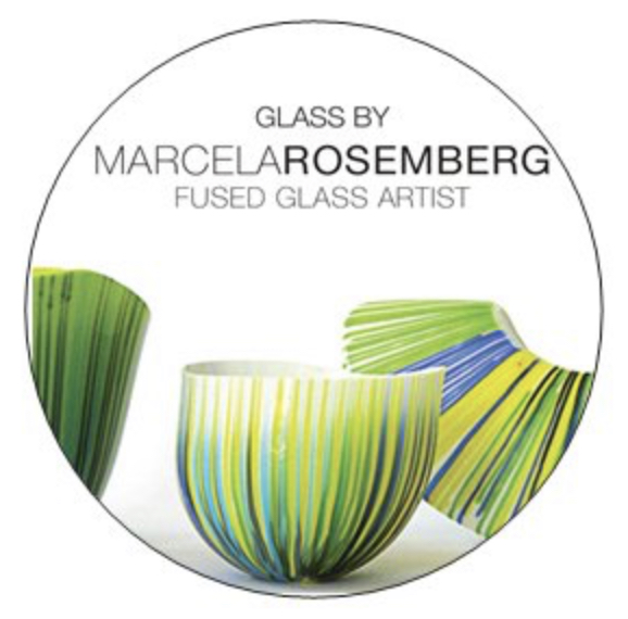 Marcela Rosemberg, Glass Art, Glass Artist, Judaica, Judaica Art, Judaica Artist