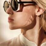 Modelo con gafa Zeus Dafne en Optica en Palma