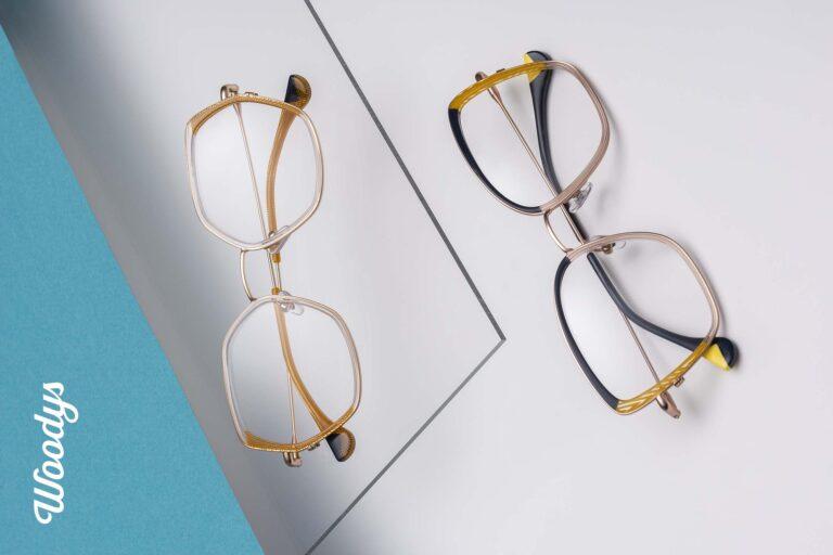 gafas graduadas amarillas