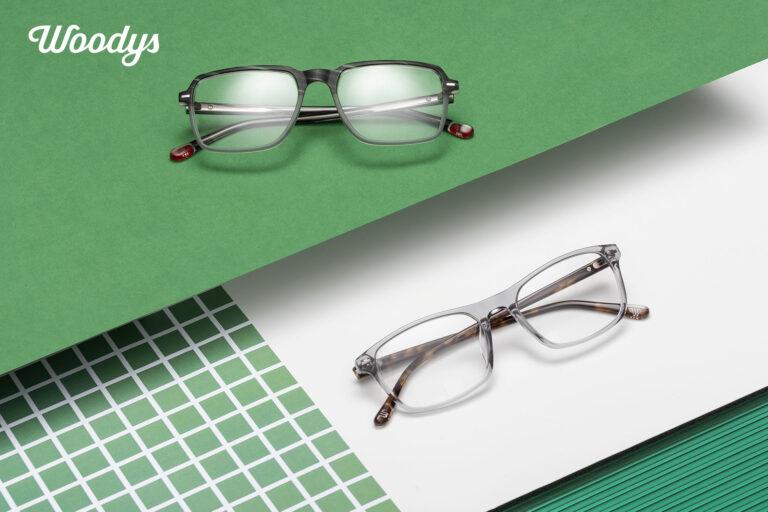 Gafas verdes graduadas de Optica en Palma