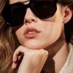 Modelo con gafa Zeus Minos en Optica en Palma