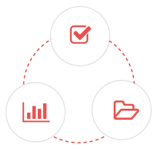 quality assurance framework icon