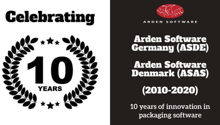 Arden Software marks 10-year anniversary of German and Nordic offices