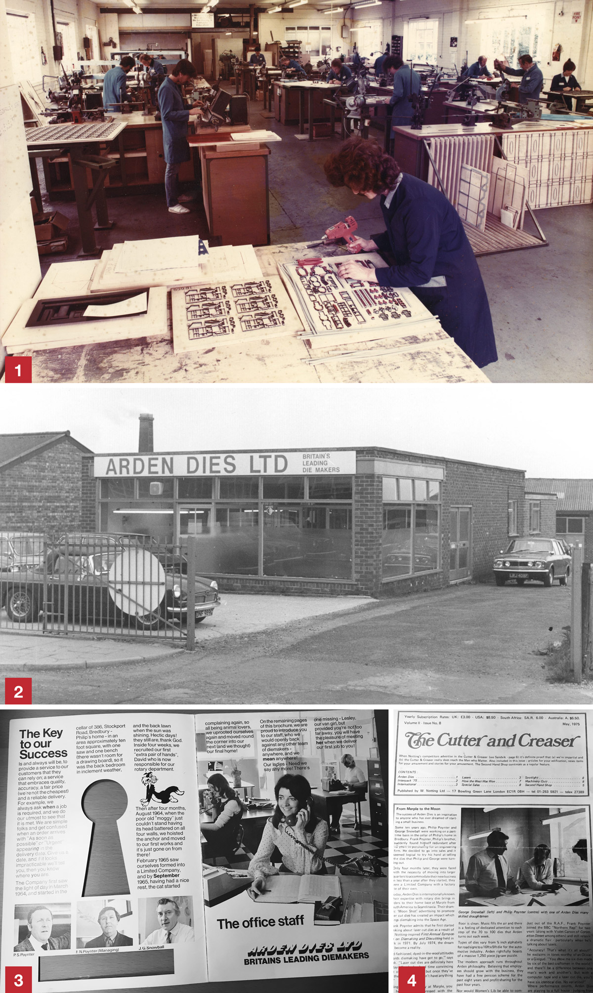 History of Arden and Arden first factory
