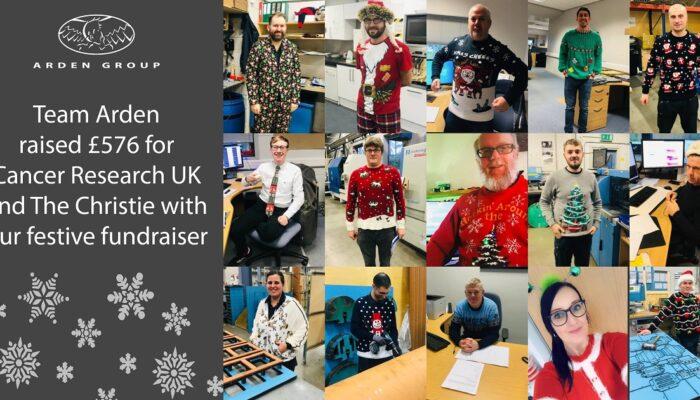 Festive fundraiser raises £576 for charity