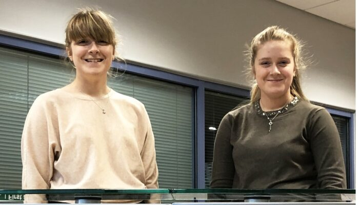 Double the job success for twin sisters