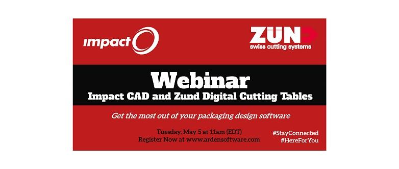 Webinar – Impact CAD and Zund Digital Cutting Tables