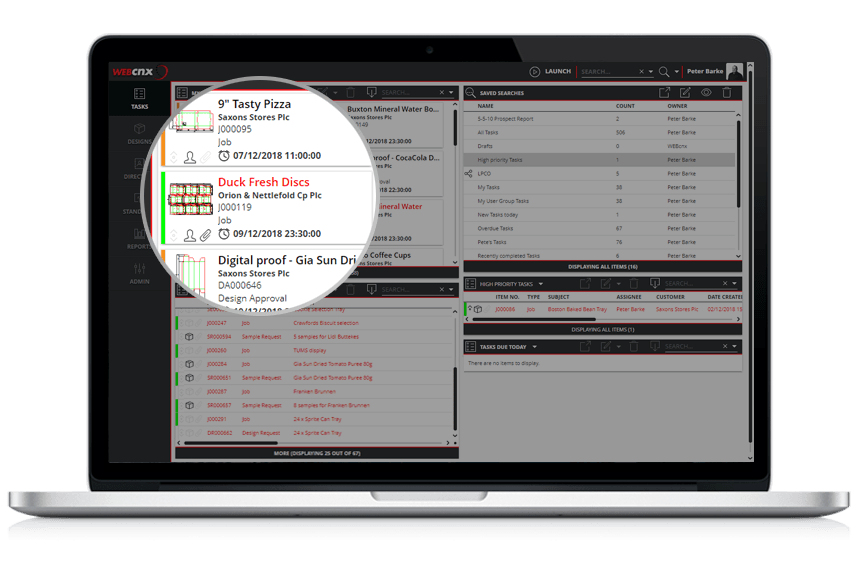 Webcnx automated account management for Duck Fresh Discs