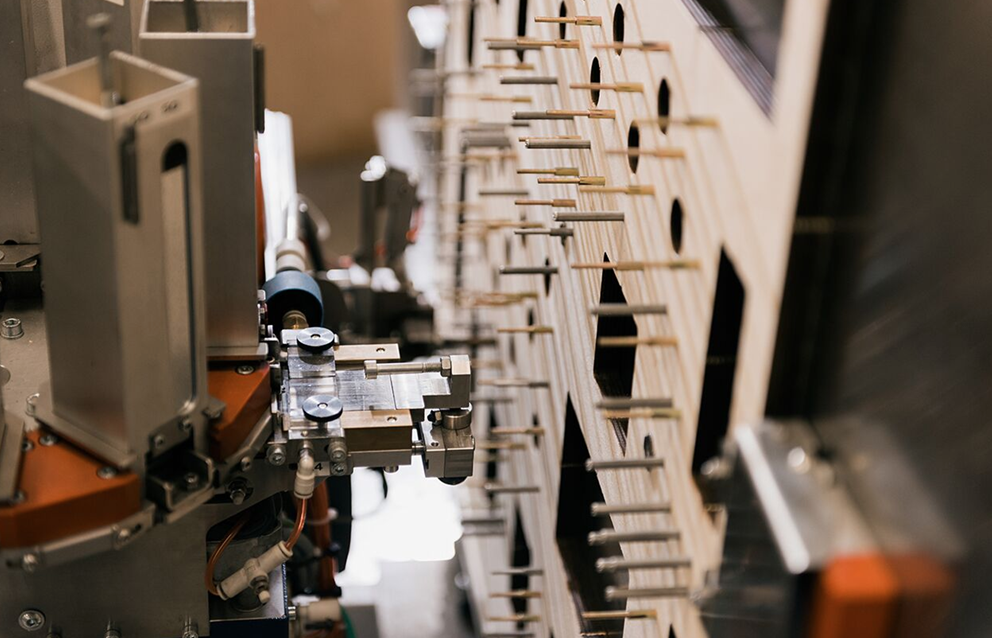 Picture of packaging being manufactured