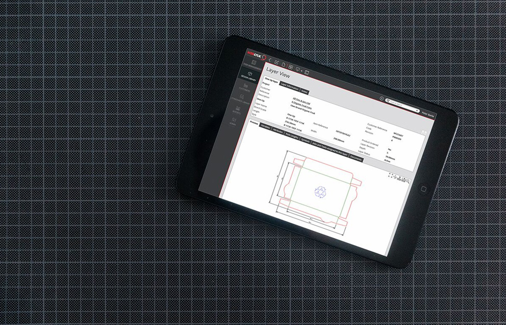 nServer running on an iPad