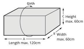 荷サイズ Flex
