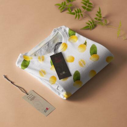 Lemon Pattern Tshirt