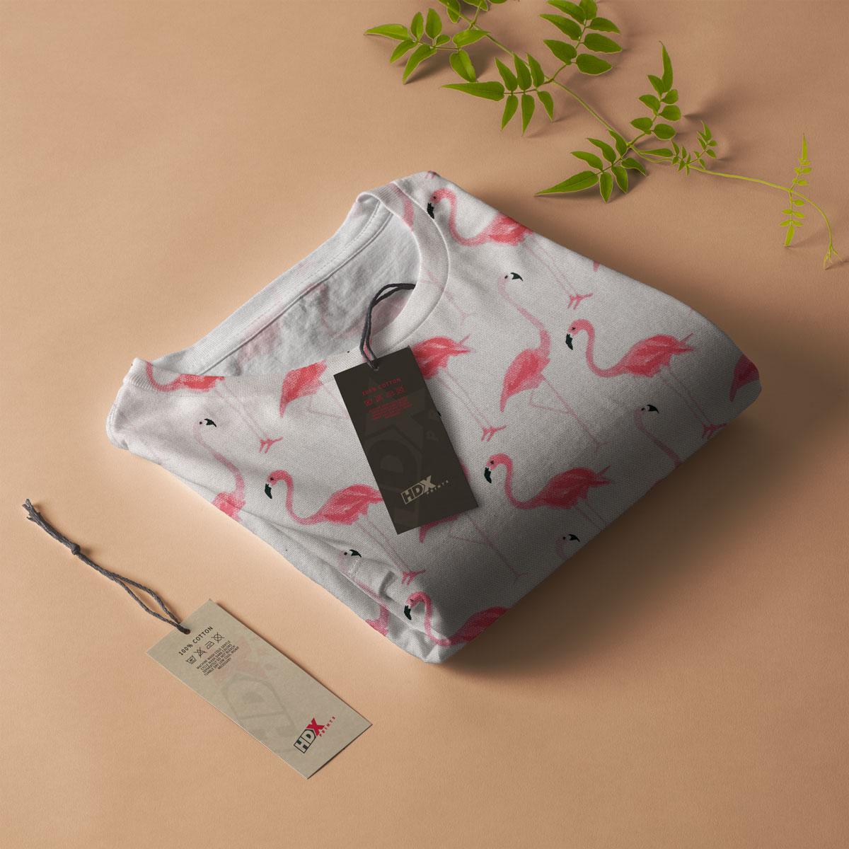 Flamingo Pattern Tshirt
