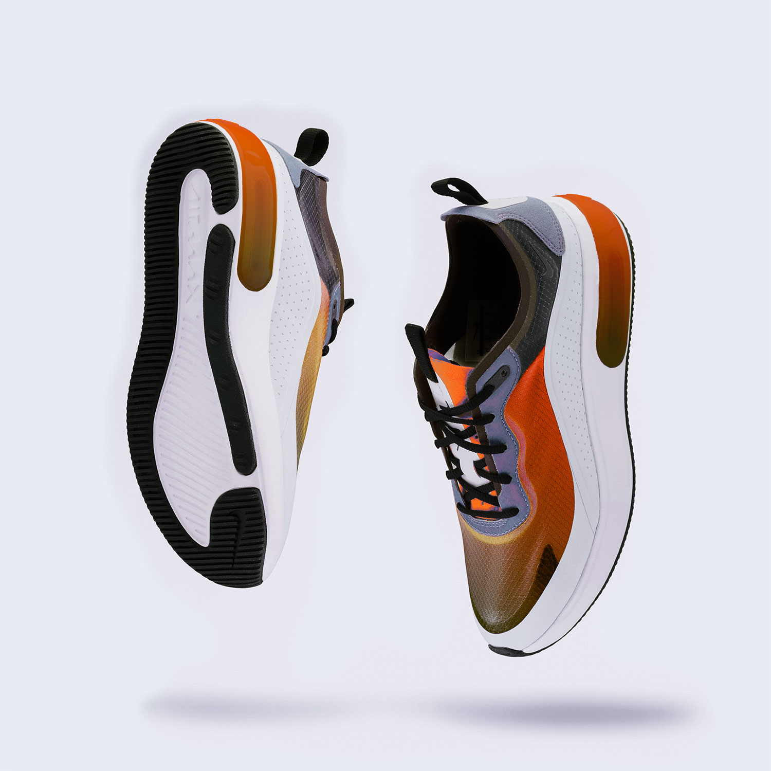 DNK Orange Sports Shoes